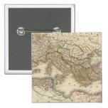 Hemisferio del este clásico de Roma Pin Cuadrada 5 Cm