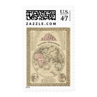 Hemisferio del este sellos postales