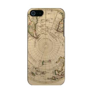 Hemisferio meridional 4 funda para iPhone 5 incipio feather shine