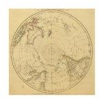 Hemisferio meridional cuadro de madera