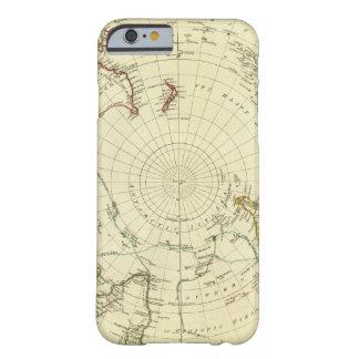Hemisferio meridional funda de iPhone 6 barely there