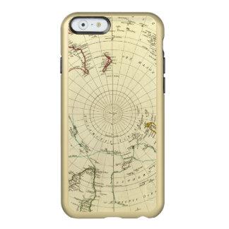 Hemisferio meridional funda para iPhone 6 plus incipio feather shine