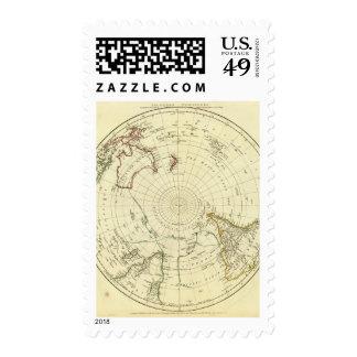 Hemisferio meridional sellos postales