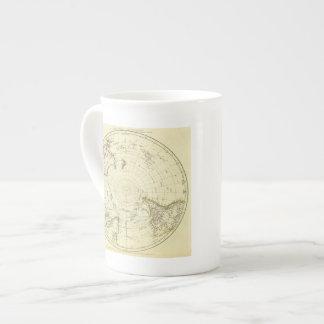 Hemisferio meridional taza de porcelana