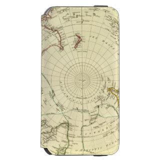 Hemisferio meridional funda cartera para iPhone 6 watson