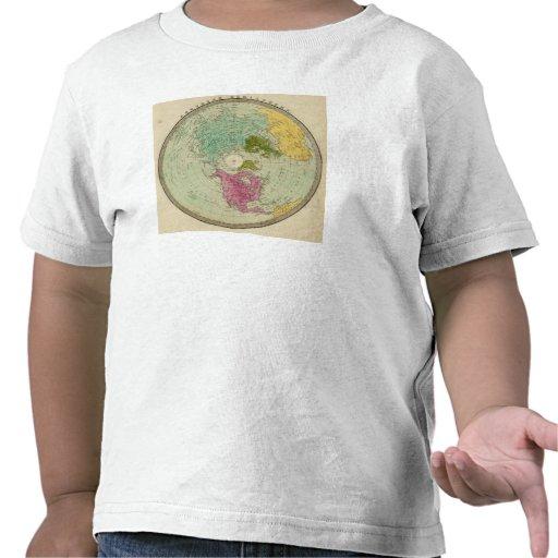 Hemisferio norte 4 camiseta