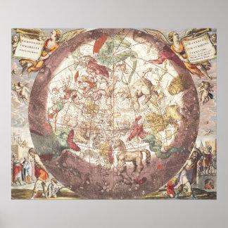 Hemisferio norte, 'del celestial póster