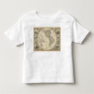 Hemisferio occidental 10 t shirt