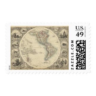 Hemisferio occidental 10 sellos
