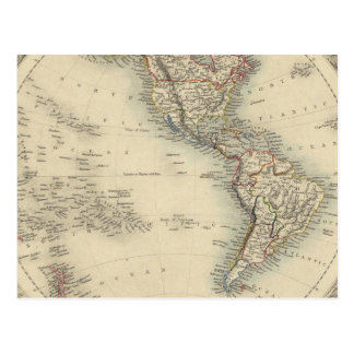 Hemisferio occidental 10 postal