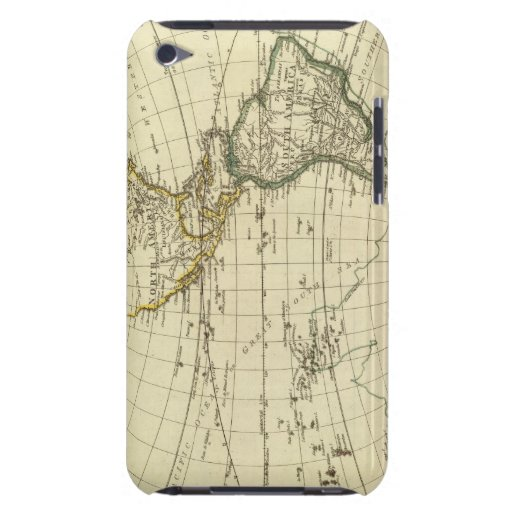 Hemisferio occidental 11 Case-Mate iPod touch protectores