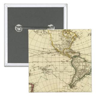 Hemisferio occidental 11 pin cuadrado