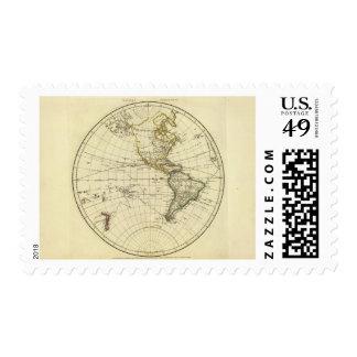 Hemisferio occidental 11 sellos