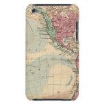 Hemisferio occidental 14 Case-Mate iPod touch fundas