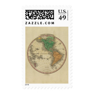 Hemisferio occidental 16 timbres postales