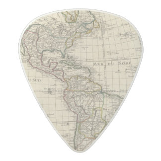 Hemisferio occidental 2 2 púa de guitarra acetal