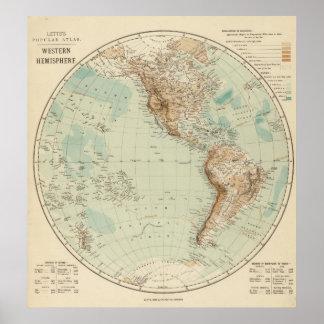 Hemisferio occidental 3 poster