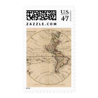 Hemisferio occidental 3 sello