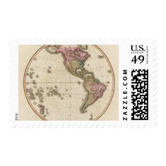 Hemisferio occidental 5 sello postal