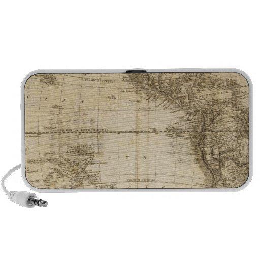 Hemisferio occidental 6 iPod altavoces