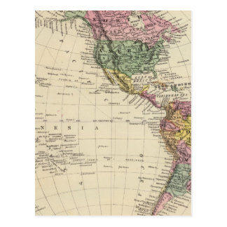 Hemisferio occidental postal
