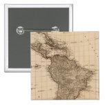 Hemisferio occidental, Suramérica Pin Cuadrado