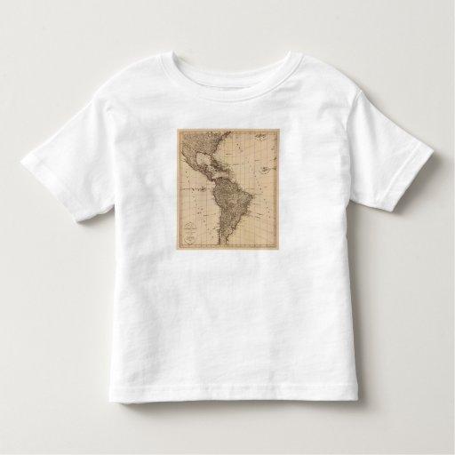 Hemisferio occidental, Suramérica Playera De Bebé