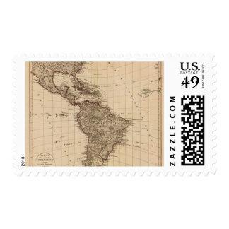 Hemisferio occidental, Suramérica Timbres Postales