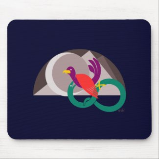 Hemisphere graphic mouse-pad mousepads