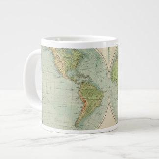 Hemispheres 12 physical giant coffee mug