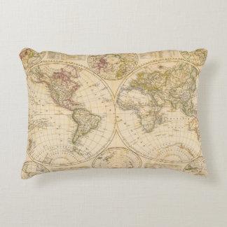 Hemispheres Decorative Pillow