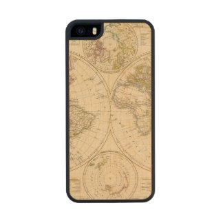 Hemispheres Maple iPhone 5 Slim Case