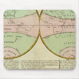 Hemispheres Mouse Pad