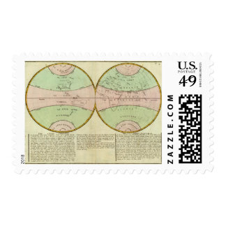 Hemispheres Postage