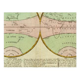 Hemispheres Post Card