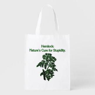 Hemlock: Curación para la estupidez Bolsas De La Compra