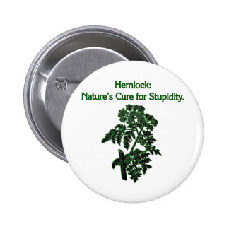 Hemlock: Cure For Stupidity Button