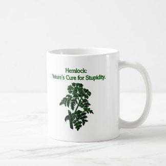 Hemlock: Cure For Stupidity Classic White Coffee Mug