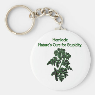 Hemlock: Cure For Stupidity Keychains
