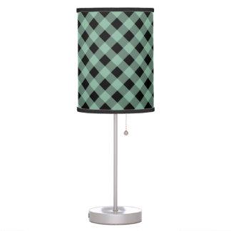 Hemlock de la tela escocesa 1 lámpara de mesa