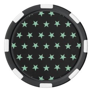 Hemlock de las estrellas 8 fichas de póquer