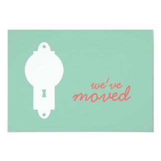 Hemlock Green Door Knob Housewarming Party Invite