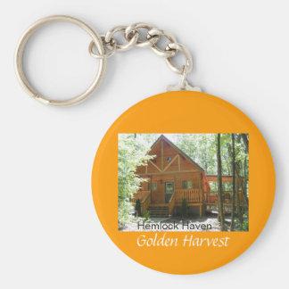 Hemlock Haven Golden Harvest Key Chain