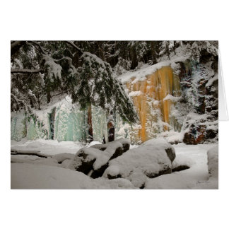Hemlock & Iceflow, Smart's Brook, Thornton, NH Card