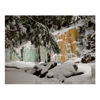 Hemlock & Iceflow, Smart's Brook, Thornton, NH Postcard