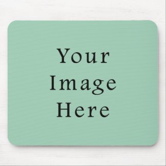 Hemlock Light Green Color Trend Blank Template Mouse Pad