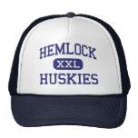 Hemlock - perros esquimales - High School secundar Gorros Bordados
