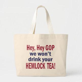 Hemlock Tea Tote Bag