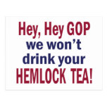 Hemlock Tea Postcard