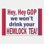 Hemlock Tea Yard Sign